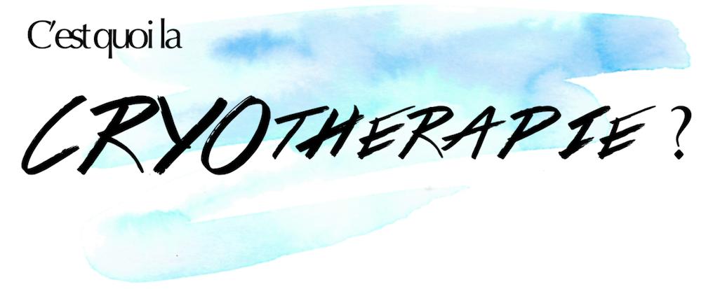 cryothérapie corps entier | Norkapp